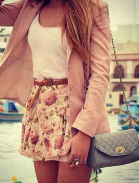 Never thought to style my skirt like that! May have to revive it Discover and…