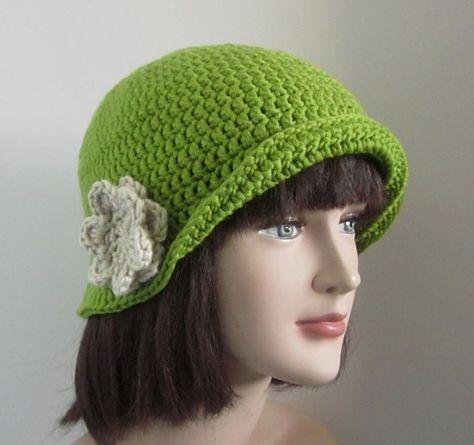Простая шляпка крючком схема фото 170