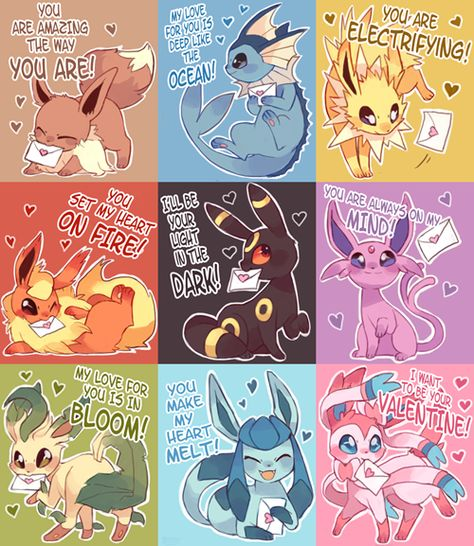 I don't play Pokemon, but these Eeveelutions are frickle frackin adorable Cosplay Pokemon, Anime Pokemon, Pokemon Cards, Pokemon Comics, Pokemon Memes, Pokemon Tumblr, Pokemon Stuff, Pokemon Mignon, Pokemon Eevee Evolutions