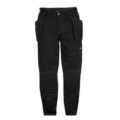 Pantalon Fox Noir Site Taille 46 En 2020 Pantalon De Travail Noir Et Taille