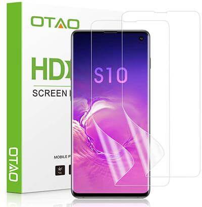 Top 10 Best Galaxy S10 Screen Protectors In 2020 Reviews Best Screen Protector Screen Protector Flexible Screen
