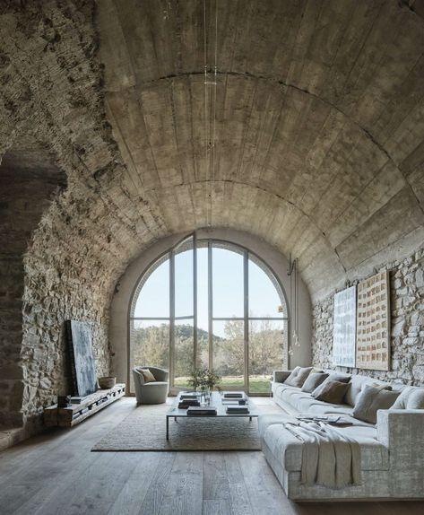 Antica Fattoria Spagnola Secolare Trasformata In Una Splendida Casa Blogdidecorazione Interior Design Per La Casa Case Di Design Architettura Di Interni