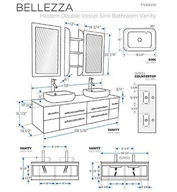 Bathroom Vanity Double Sink 72 Bathroomvanitieswithsinks Bathroom Dimensions Bathroom Layout Bathroom Vanity Sizes
