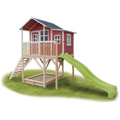 315 Cm X 239 Cm Im Obi Online Shop Kaufen Kunststoff Gartenhaus Von Grosfillex In Schwedenrot 75m2 Deco Mit Fenster Gartenhaus Weiss Gartenhaus Haus Und Garten