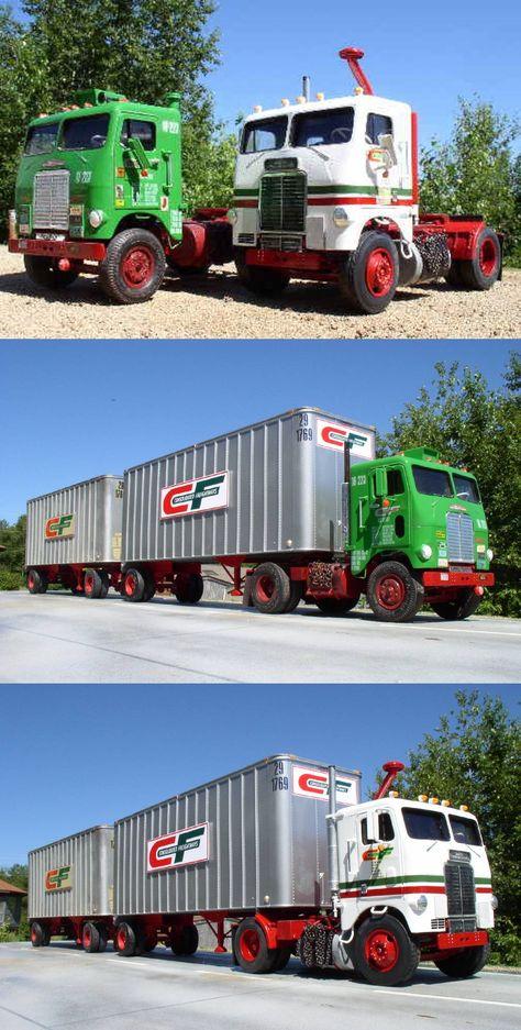 140 Old Freight Trucks Ideas Freight Truck Trucks Big Trucks