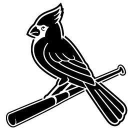 Mlb St Louis Cardinals Logo Stencil St Louis Cardinals St Louis Cardinals Baseball St Louis Cardinals Shirts
