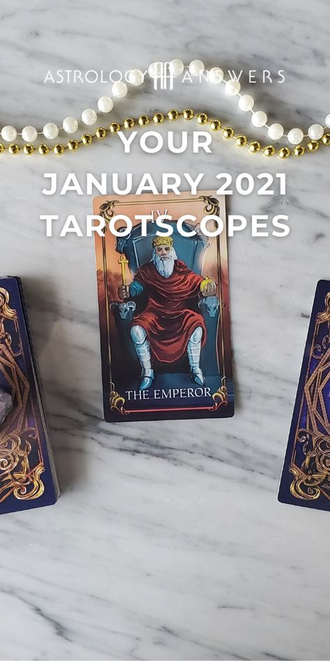 The New Year is almost here. 🔮 Here are your January 2021 #Tarotscopes. #2021tarot #tarotpredictions #newyeartarot