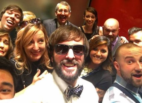 August Burns Red Get Stuck In Elevator Before Grammys Taken To Red Carpet By Fire Department August Burns Red Grammy Fire Department