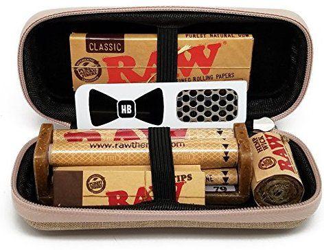 Amazon com: Bundle - 7 Items - RAW Hard Shell Travel Case