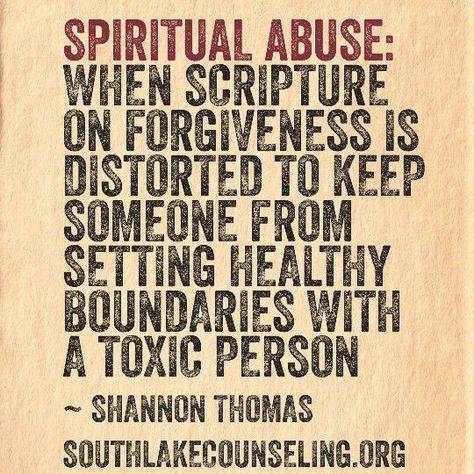Spiritual Abuse is…   Southlake Christian Counseling