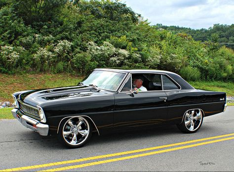 1967 Chevrolet Nova Who doesn't love a good Nova? This one, sent to us by SpeedProPhoto, is a beauty.