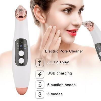 6 in 1 elektrische Mitesser Entfernung Gesicht Haut