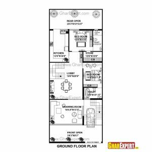Fantastic Home Plan 15 X 60 New X House Plans North Facing Plan India Duplex 15 45 House Map Picture House Floor Plan In 2020 House Map 20x30 House Plans How To Plan