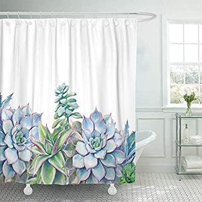 Pin On Watercolor Shower Curtain Floral