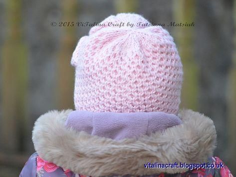 c5a5132063a Ravelry  Cherry Flower Hat pattern by Tatsiana Matsiuk