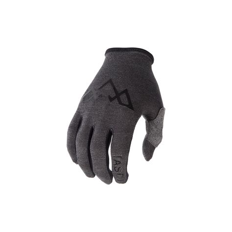 Gloves Cycling Carnac Ergonomic Black-Grey