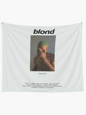 Blonded Wall tapestry Frank Ocean Album Wall Hanging Singer Music Tapestriess #fashion #home #garden #homedcor #tapestries (ebay link)