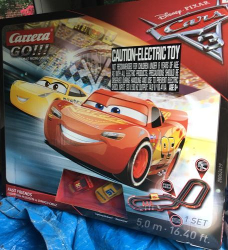 1970 Now 152936 Carrera 62419 Cars 3 Fast Friends Race Track Set Go 1 43 Scale Buy It Now Only 5 Slot Car Racing Sets Disney Pixar Cars Slot Car Racing
