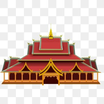 Yunnan Da Buddha Temple Cartoon Building Cartoon Eleven National Day Illustration Png Transparent Clipart Image And Psd File For Free Download Cartoon Building Buddha Temple Indian Temple Architecture