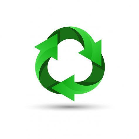 إعادة تدوير الخضراء شعار شعار التصميم أيقونة Png والمتجهات للتحميل مجانا Recycle Logo Green Recycling Pictogram