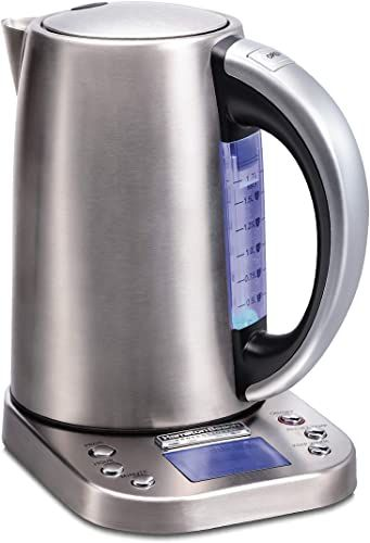 New Hamilton Beach Professional Digital Lcd Variable Temperature Control Electric Tea Kettle Water Boiler Heater 1 7l Cordless Auto Shutoff Boil Dry Protection Silver 41028 Online In 2020 Kettle Water Boiler Boiler