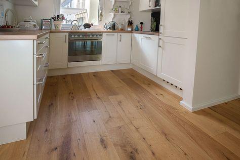 Gesamter Wohnbereich Eichen Pakett Boden Notiz Vorbesitzer - bodenbelag küche pvc