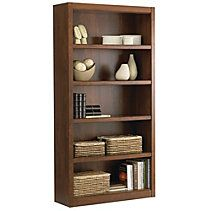 For Living 5 Shelf Bookcase