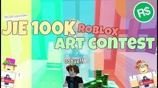 Jie 100k Roblox Art Contest Closed Roblox Art Contest Video