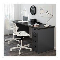 Linnmon Tabletop White 78 3 4x23 5 8 Ikea Ikea Alex Drawers Drawer Unit Linnmon Table Top