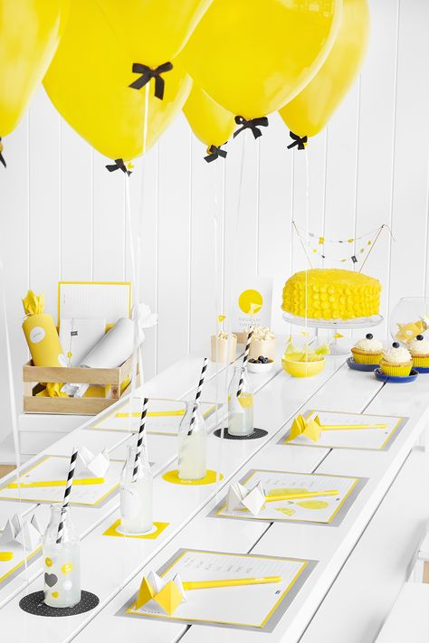 Hello Yellow Party Ideas Part 1