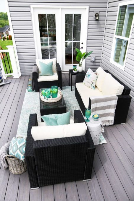 Summer Deck Decorating Ideas Summer Deck Decor Outdoor Deck