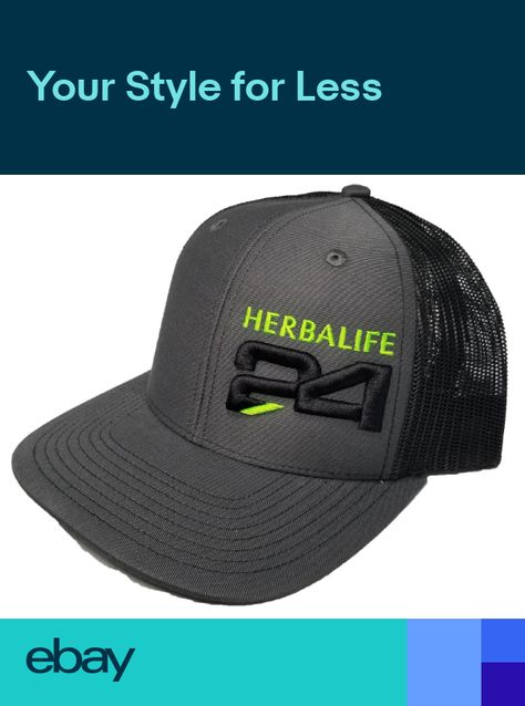 Richardson Herbalife Snapback Hat Trucker Cap Custom Hat for Men and Women 44fb91750bb3