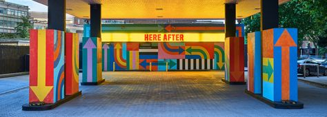 Decommissioned Gas Station Becomes a Pop-Art Installation: HERE AFTER by Craig & Karl