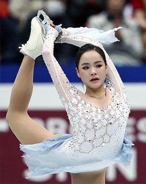 Figure Skater Lim Eun-Soo scores her personal best in ISU World ...