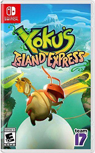 Yokus Island Express Nintendo Switch Edition New Nintendoswitch Nintendo Switch Ps4 Or Xbox One Xbox One Nintendo Switch
