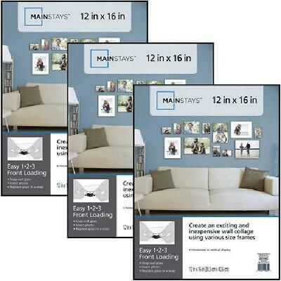 Mainstays 12x16 Format Picture Frame Set Of 3 Fashion Home Garden Homedcor Frames Ebay Link 2020 Picture Frame Wall Picture Frame Sets Picture Wall Bedroom