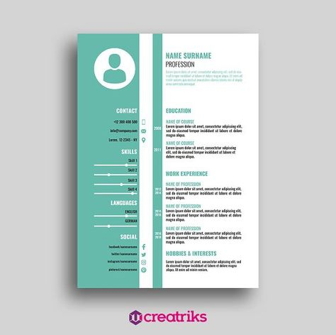 Resume\/CV Perfect Resume Perfect Resume Pinterest Perfect - hobbies and interests on a resume