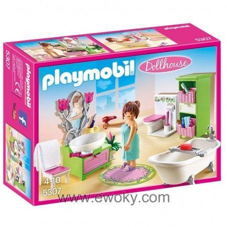 Bano Vintage Playmobil Dollhouse 14 83 Ideas De Casa De
