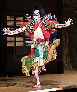Japanese Kabuki Theatre Japanese Outfits Kabuki Costume Japan Fashion
