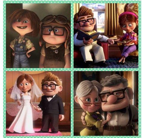 Carl an Ellie's love