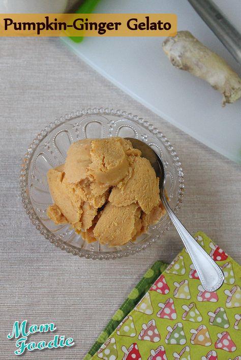 Pumpkin Ginger Gelato (non-dairy)