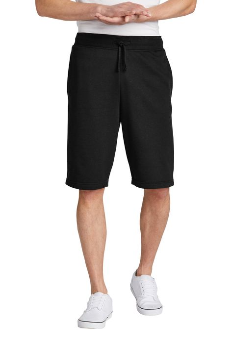 The Minimalist Fleece Shorts - Black / S