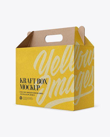 Download Box Packaging Mockup Free Matte Cosmetic Jar With Box Mockup In Jar Mockups On Yellow Images Box Mockup Design Mockup Free Packaging Mockup
