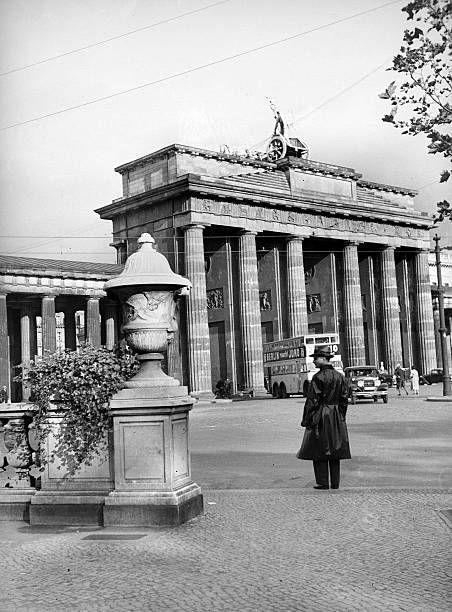1935 Hindenburgplatz Berlin Spree Brandenburger Tor Berlin Geschichte