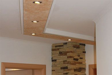 Stuck Profile für die indirekte Beleuchtung von Wand und