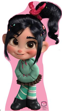 Vanellope Von Schweetz - Disney's Wreck-It Ralph Movie Lifesize Standup