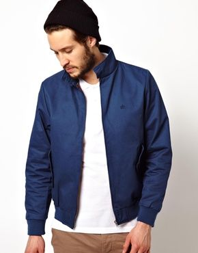 New Look Sport Harrington Chaqueta Bomber para Hombre