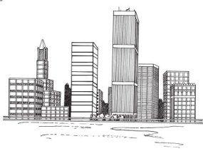 Dibujar Un Paisaje Urbano Dibujos De Edificios Dibujo De Arquitectura Ciudad Para Dibujar