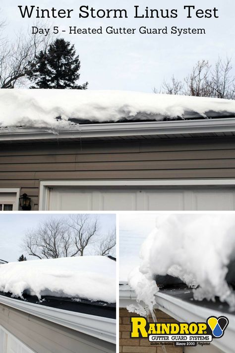 21 best Heated Gutter Guards. Snow and Ice Dams images on Pinterest | Ice  dams, Gutter guards and Chicago winter