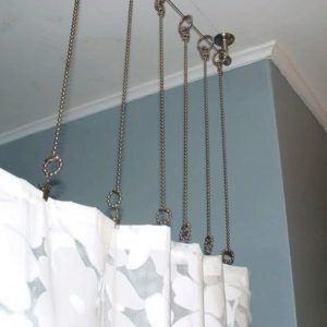 Image Result For Ball Chain Shower Curtain Rings Long Shower